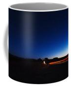 Monument Valley At Night 1 Coffee Mug