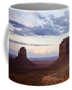 Monument Valley At Sunset Coffee Mug