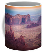 Monument Valley From Hunts Mesa Coffee Mug by Inge Johnsson