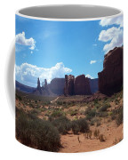 Monument Valley Scenic View Coffee Mug