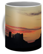 Monument Valley Sunset 1 Coffee Mug