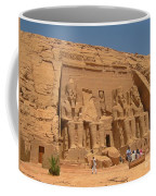 Monumental Abu Simbel Coffee Mug