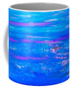 Moody Blues Abstract Coffee Mug