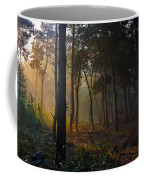 Moody Forest Happy Sun Coffee Mug