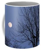 Moon And Bare Tree Coffee Mug