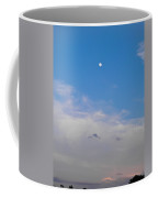 Moon And Sunset Coffee Mug