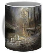 Moon Camp Coffee Mug by Betsy Knapp