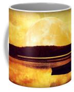 Moon Landscape Coffee Mug