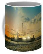 Moon Light On The Aegean Coffee Mug