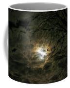 Moon Light With Clouds Coffee Mug