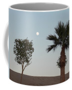Moon Over Baja Desert Coffee Mug