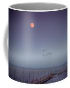 Moon Over Lake Mille Lacs Coffee Mug