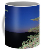 Moon Over Mountain Coffee Mug
