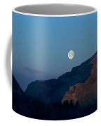 Moon Over Rattlesnake Mountain   #2785 Coffee Mug