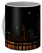 Moon Over San Diego Coffee Mug