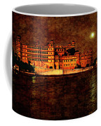 Moon Over Udaipur Painted Version Coffee Mug