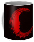Moon Phase In Blood Red Coffee Mug