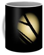 Moon Through The Branches Coffee Mug