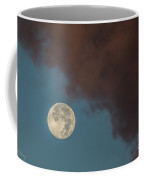 Moon Transition From Night To Day Coffee Mug by Rene Triay Photography