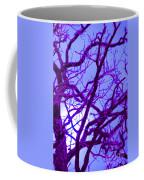 Moon Tree Purple Coffee Mug