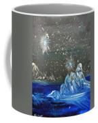 Moon With A Blue Dress Coffee Mug