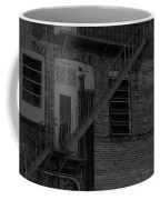 Moonlight Fire Escape Usa Near Infrared Coffee Mug