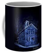 Moonlight On The Old Stone Building  Coffee Mug by Edward Fielding
