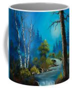 Moonlight Stream Coffee Mug by C Steele