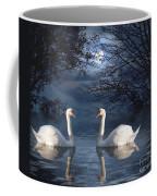 Moonlight Swim Coffee Mug