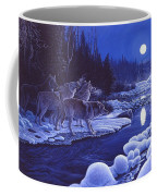 Moonlight Visitors Coffee Mug
