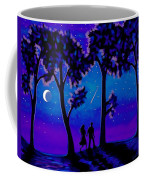 Moonlight Walk Coffee Mug