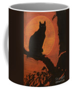 Moonlighting Cat Coffee Mug