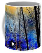 Moonlit Frosty Limbs Coffee Mug