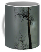 Moonlit Marks On A Ground Glass Canvas  Coffee Mug