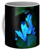 Moonlit Waterlilies Coffee Mug