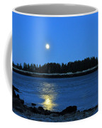 Moonrise Acadia National Park Coffee Mug