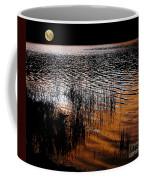Moonrise After Sunset Coffee Mug by Kaye Menner