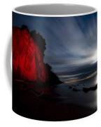 Moonrise At Clearville Beach Coffee Mug