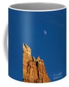 Moonrise Over Sandstone Coffee Mug