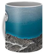 Moonrise Over The Mountain Coffee Mug