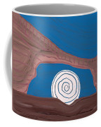 Moonscape Original Painting Coffee Mug