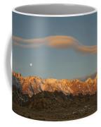 Moonset Over Mt Whitney Img 0637 Coffee Mug