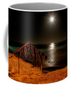 Moonset Over Windnsea Coffee Mug