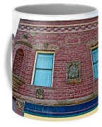Moore Block-1896 With Gargoyle-like Features In Pipestone-minnesota  Coffee Mug