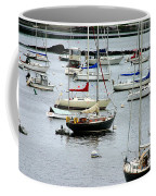 Moored At Kittery Point Maine Coffee Mug