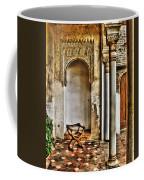 Moorish Chair And Alcove At The Alhambra Coffee Mug