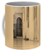Moorish Walkway In Sepia At The Alhambra Coffee Mug