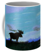 Moose - At - Sunset Coffee Mug
