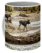 Moose Crossing River No. 1 - Grand Tetons Coffee Mug