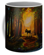 Moose Hideout Coffee Mug
